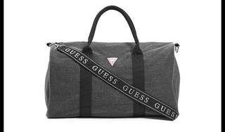 GUESS Unisex Denim Duffle Bag