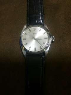 古董勞力士手錶上鏈