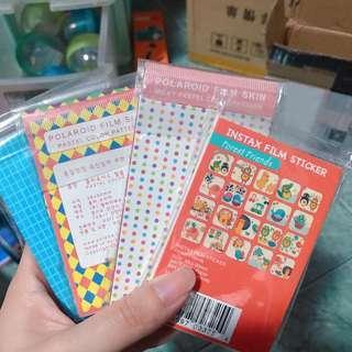 polaroid film stickers