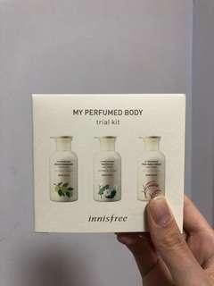 Innisfree my perfumed body trial kit