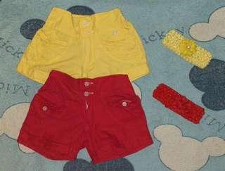 Baby Shorts w/ headpieces (take all)