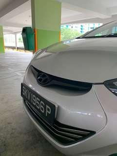 Hyundai Elantra Plastidip Dechrome Rims Spray Plasti dip