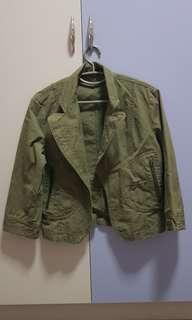 Dark Green Jacket