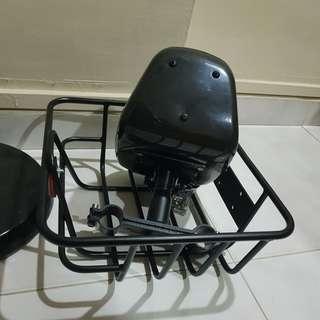 Fiido Basket + child seat