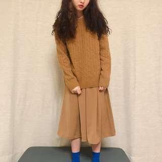 🚚 日本購入 土黃裙子