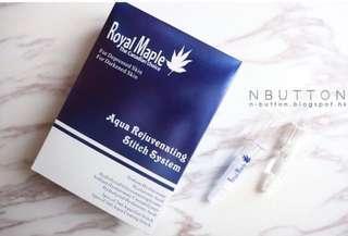 加拿大 Royal Maple Aqua Rejuvenating Stitch System 水藍針