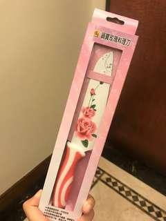 玫瑰料理刀/未使用過