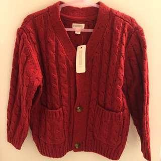 GYMBOREE紅色冷外套3T