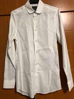 🚚 H&M white formal shirt
