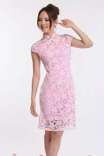 🚚 Instock Lace Cheongsam Dress CNY dress