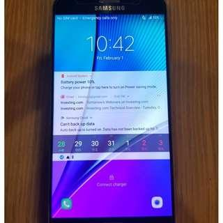 Samsung Note 5 32gb black full set #CNYGA