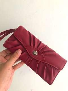 #CNY2019 Sophie Martin maroon wallet