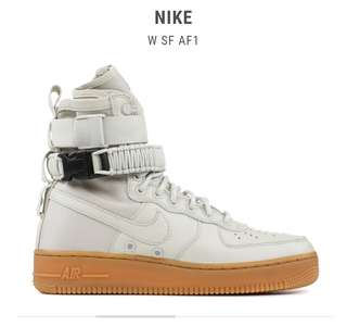 4c56c656ef41 Nike special field Air force 1 in light bone cream (sneakers boots)