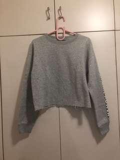 F21 gray hoodie size medium