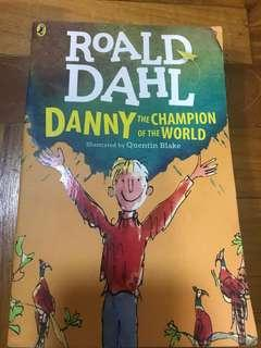 Roald Dahl Danny and the champion of the world