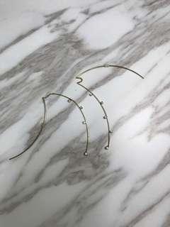 Simple Elegant Long Earring
