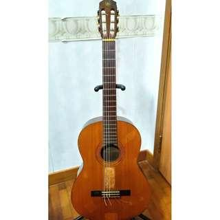 50 Year Old Made In Japan Yamaha Classical Guitar