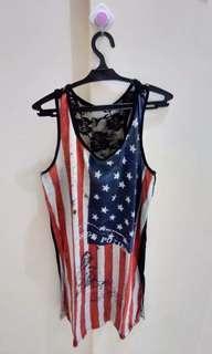 US Flag inspired dress