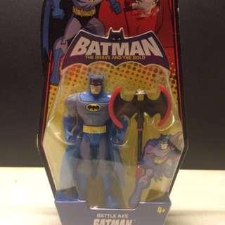 Batman The Brave and the Bold: Battle Axe Batman