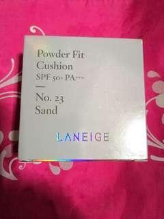 Laneige powder fit cushion