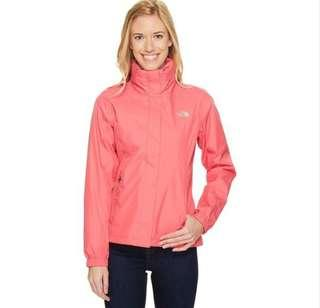North Face Women's Resolve 2 Jacket - Honeysuckle Pink Small