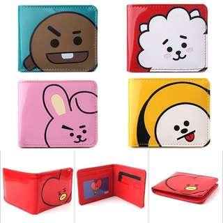 BT21 Wallets