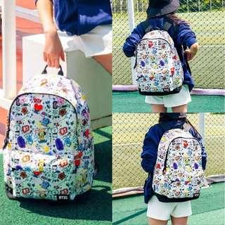 BT21 Canvas Backpack