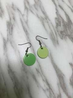 Green Vintage Earrings