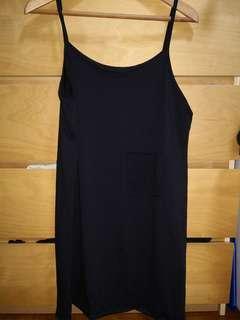 🚚 Black Spag dress