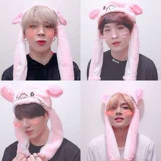 BTS Rabbit Cap