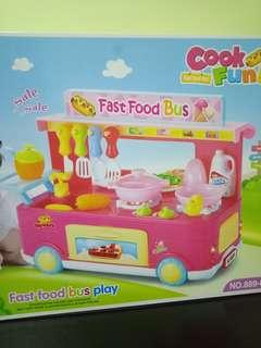 🆕Toy - Fast Food Bus