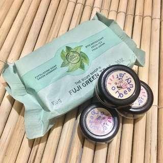 Fuji Green Tea Soap (Share in Jar)