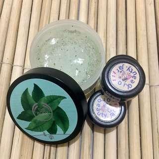Fuji Green Tea Body Scrub (Share in Jar)