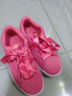 🚚 Puma 增高緞帶鞋