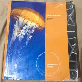 Biochemistry by Campbell and Farrell 7th Edition
