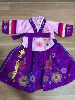 🚚 Korean traditional costume for girls