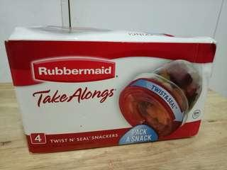 Twist and seal rubbermaid