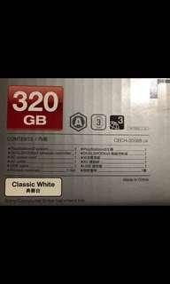 Ps3 console 320GB white