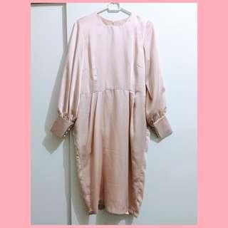 Dress Pesta Baby Pink
