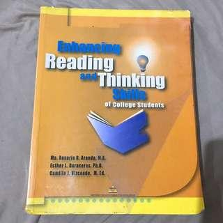 Enhancing Reading and Thinking Skills of College Students