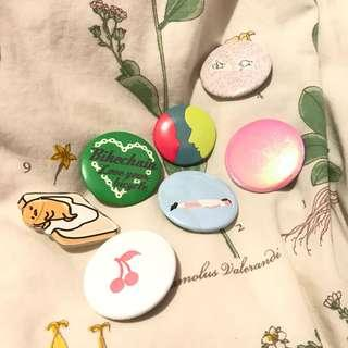 Free Pin With Purchase