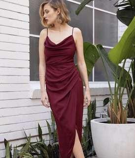 Forever New Holly Cowl Maxi Dress