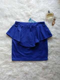 [NWT] Peplum skirt