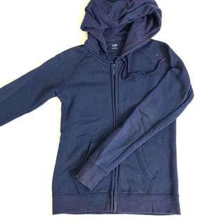Uniqlo Dark Blue Sweater Hoodie