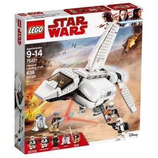 Lego 75221 Star Wars Imperial Landing Craft