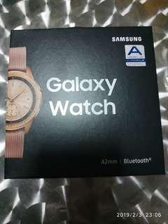 Galaxy watch rose gold 42mm
