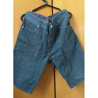 Celana pendek abu-abu tua Levi's