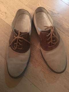 Cole Hann suede shoes