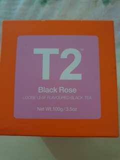 🚚 T2 Black Rose black tea  loose leaves
