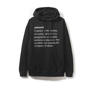Assc meanings black hoodie